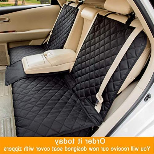 YESYEES Waterproof Seat Covers Seat Cover Nonslip Bench Cover Compatible Seat and Armrest Fits Most Cars, SUVs