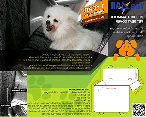 Yes4All Waterproof Seat Cover for Quilted - ²PUDPZ