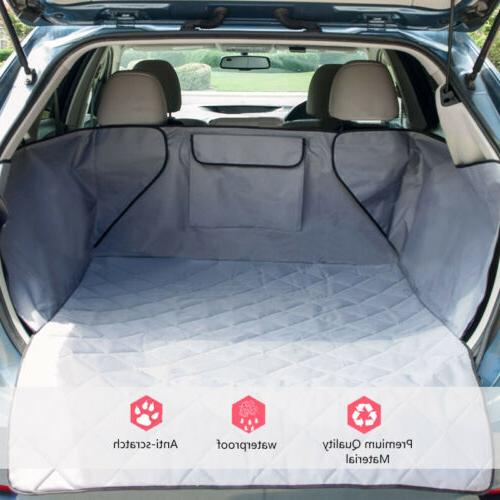 Pet Dog Car SUV Truck Seat Cover Quilted Rear Back Waterproo