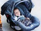 THE WHOLE CABOODLE CARSEAT CANOPY BABY CAR SEAT COVER 5 PC S