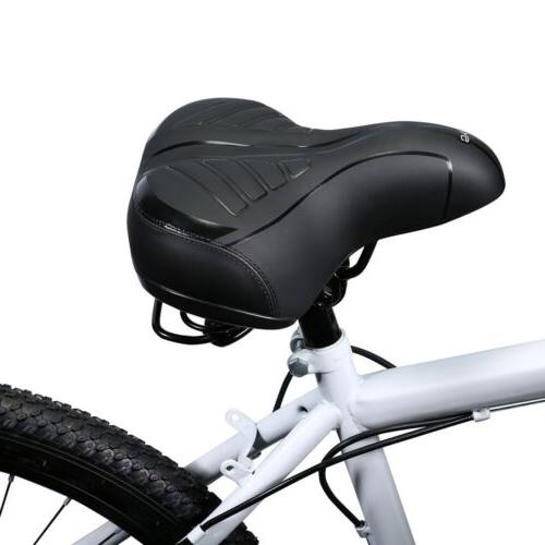 Wide Bottom Bicycle Cycling Seat Gel Cushion