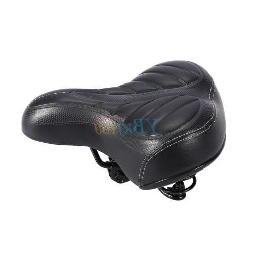 HOT Wide Big Bum Bicycle Sporty Soft Saddle Seat