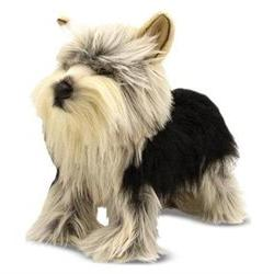 Melissa & Doug Yorkshire Terrier Dog Giant Stuffed Animal