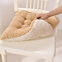 lambswool Chair Cushion Seat Pads REMOVABLE COVER Patio Tie