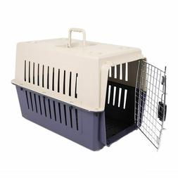 Large Cat Carrier Kitten Puppy Crate Pet Transporter Safe Tr