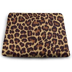 MODREACH Leopard Print Seat Cushion Orthopedic Car Seat Cush