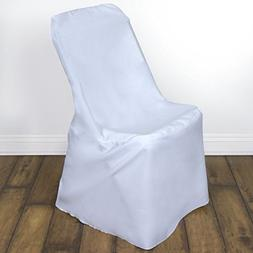 1 pc LIFETIME FOLDING Chair Cover Polyester - White