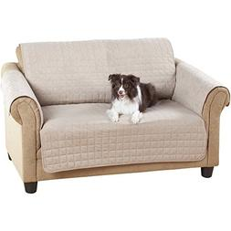 Mainstays Loveseat Protector, Warm Chocolate