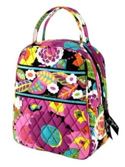 Vera Bradley Lunch Bunch in Va Va Bloom