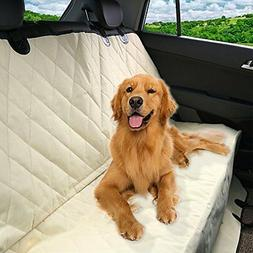 Luxury Pet Seat Cover for Car Seats - Hammock Style Cover Pr