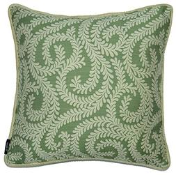 McAlister Plush Woven Little Leaf Pillow Cover Sham | Floral