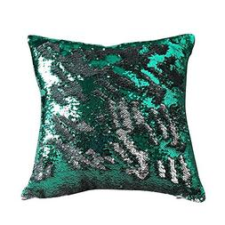 Freestyle Reversible Color Change Sequin Throw Pillow Cases