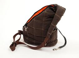 Petego Messenger Bag Pet Carrier, Brown
