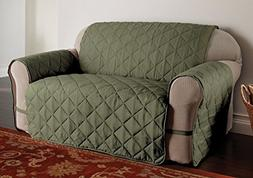 Innovative Textile Solutions Microfiber Solid Ultimate Sofa