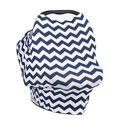 Milkmaid Goods Nursing Cover up,Dtown Navy Infinity Scarf In
