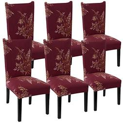 YISUN Modern Stretch Dining Chair Covers Removable Washable