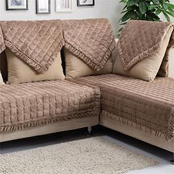 OstepDecor Multi-size Pet Dog Couch Rectangular Soft Quilted