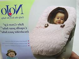 NEW NOJO Baby Car Seat, Carriers & Stroller Cover-Up Pink &
