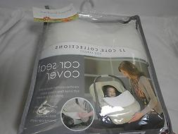 New J J Cole Collections Car Seat Cover ~ Graphite Target ~