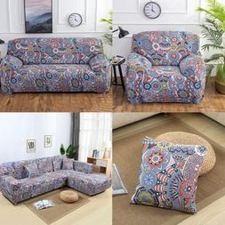 New Fashion Elastic Sofa Cover Slipcover Set Couch Stretch A