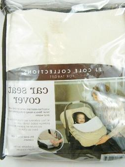 New JJ Cole Collections Car Seat Cover ~ Graphite Target ~