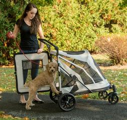 NEW Pet Gear NO-ZIP Expedition Extra Large Dog Cat Stroller