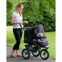 NEW Pet Gear NV NO-ZIP Dog Cat Jogger Stroller w/ Weather Co