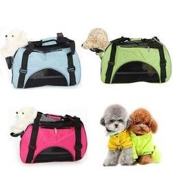 New Pet Carrier Soft Sided Cat/Dog Comfort Travel Carry Bag