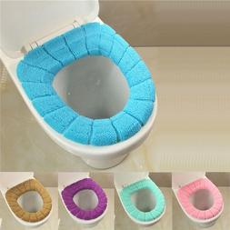 New Soft Bathroom Washable Toilet Seat Cover Closestool Lid