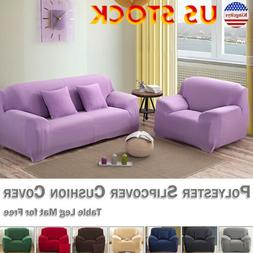 New Soft Solid Micro Suede Sofa Loveseat Or Armchair Cover S