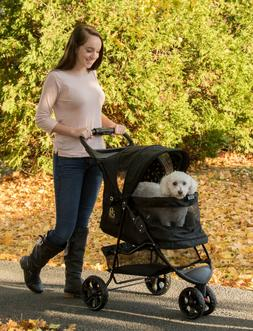 NEW Pet Gear Special Edition NO-ZIP Dog/Cat Stroller PG8250N