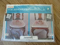 New Paragon Williamsburg Chair Seat Cover  Crewel Kit No. 37