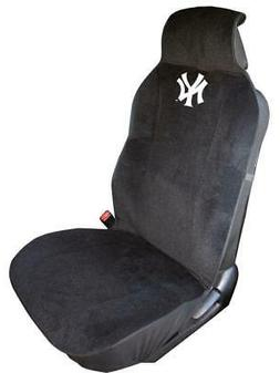 New York Yankees Embroidered Seat Cover  Car Auto MLB Black
