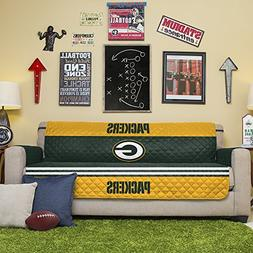 NFL Green Bay Packers Sofa Couch Reversible Furniture Protec