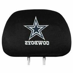 Team ProMark NFL Dallas Cowboys Head Rest Covers, 2-Pack