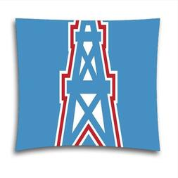 AM Kingdom Sports NFL Houston Oilers Teams Square Decorative