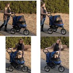 No Zip NV Pet Stroller For Cats/Dogs Zipperless Entry Easy O