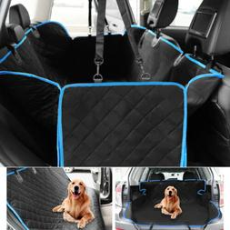 Non-Slip Pet Dog Car Seat Cover Waterproof Hammock SUV Back