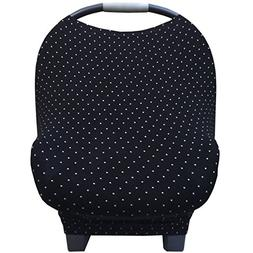 Nursing Breastfeeding Cover and Baby Car Seat Cover Canopy M