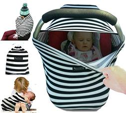 Snaozee Multi-use Nursing Cover & Baby Car Seat Canopy Best