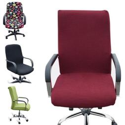Office Chair Cover Spandex Armchair Seat Covers Swivel Chair