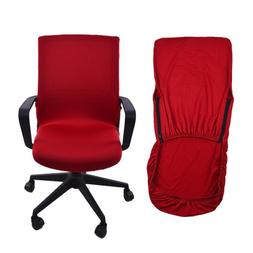 Office Chair Cover Swivel Computer Armchair Protector Slipco
