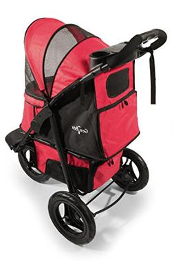 Gen7Pets Pathfinder Red G7 Jogger Dog Stroller  — For Pets