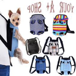 Pet Carrier Backpack Adjustable Cat Dog Pet Front Carrier Le