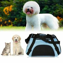 Pet Carrier Soft Sided Large Cat /Dog Comfort Mineral Purple