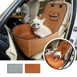 Pet Cat Dog Safety Seat Cover for Car Front Seat Bag Mat Tra