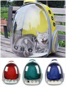 Pet Cat Dog Travel Carrier Backpack Puppy Kitten Space Capsu