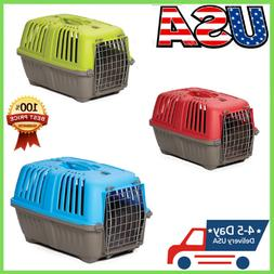 for Pet Cat Puppy Carrier Travel Cage Crate Portable Small D