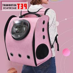 Pet Cat Puppy Dog Astronaut Carrier Sporty Soft-Sided Backpa