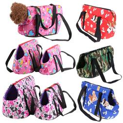Pet Dog Carrier Shoulder Sling Bag Puppy Cat Canvas Outside